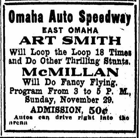 Omaha Auto Speedway, East Omaha, Nebraska