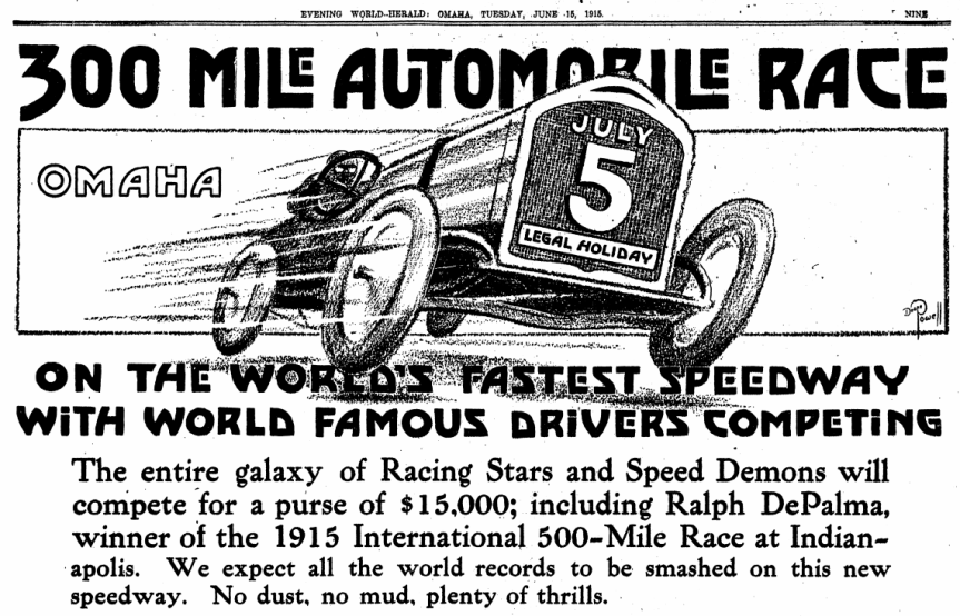 A History of the Omaha AutoSpeedway
