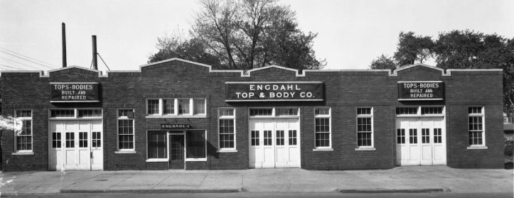 Engdahl Top and Body Company, N. 18th and California Streets, North Omaha, Nebraska