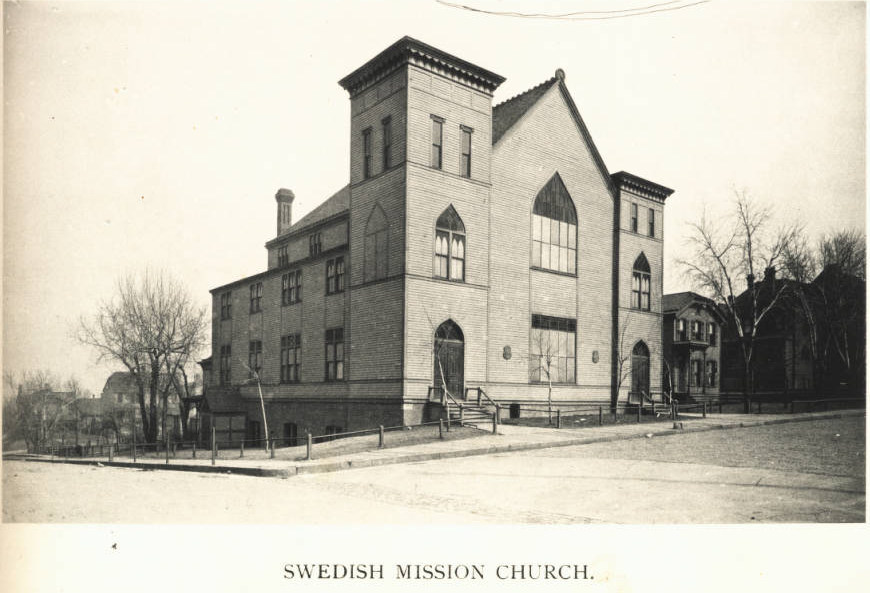 Swedish Mission Church, North Omaha, Nebraska