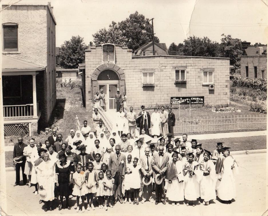 Mt Calvary Community Church, 2426 Grant Street, North Omaha, Nebraska