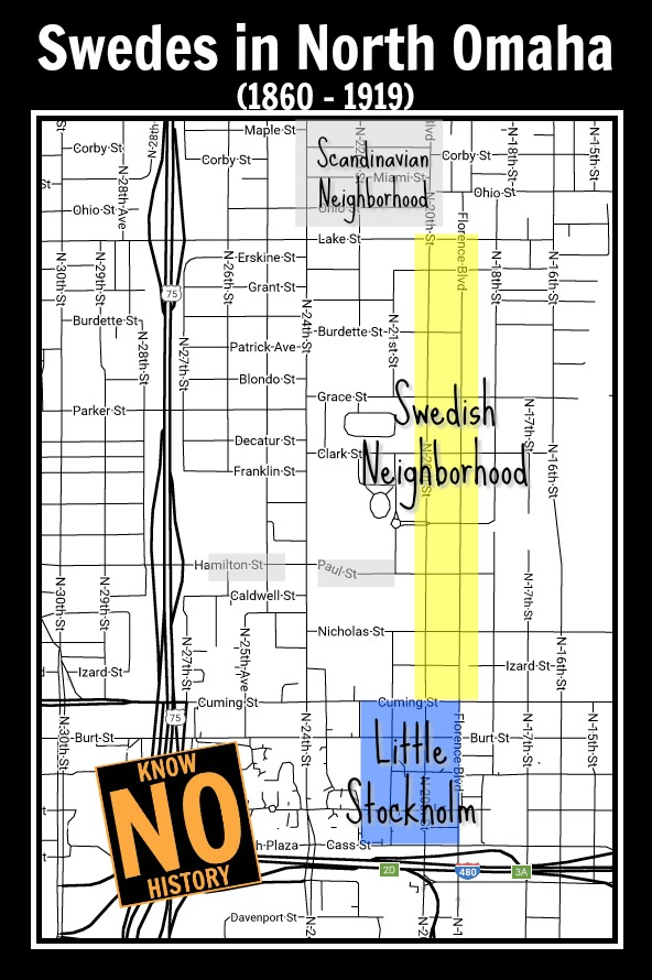 Swedes in Omaha, North Omaha, Nebraska