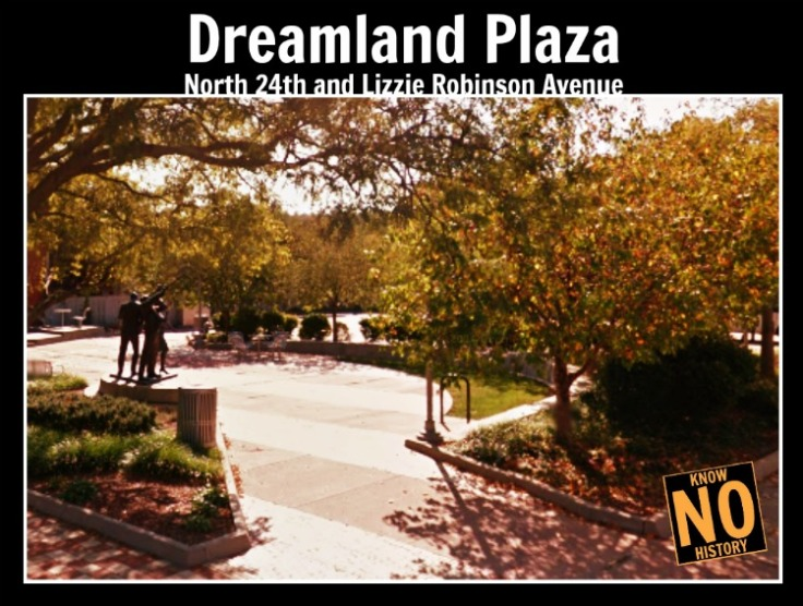 Dreamland Plaza, N. 24th and Lizzie Robinson Ave, North Omaha, Nebraska