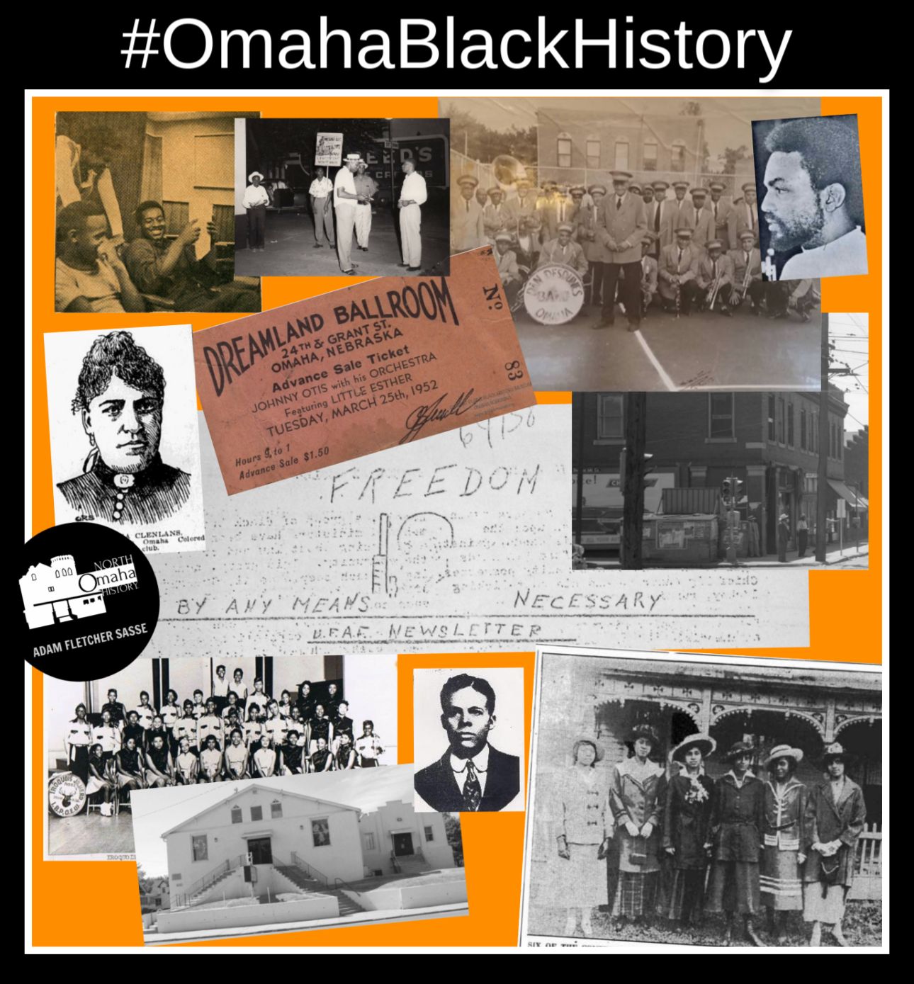 Look for details on your favorite social media with #OmahaBlackHistory