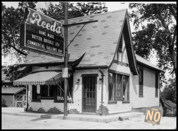 Reed's Ice Cream, N. 30th and Chicago Streets, North Omaha, Nebraska