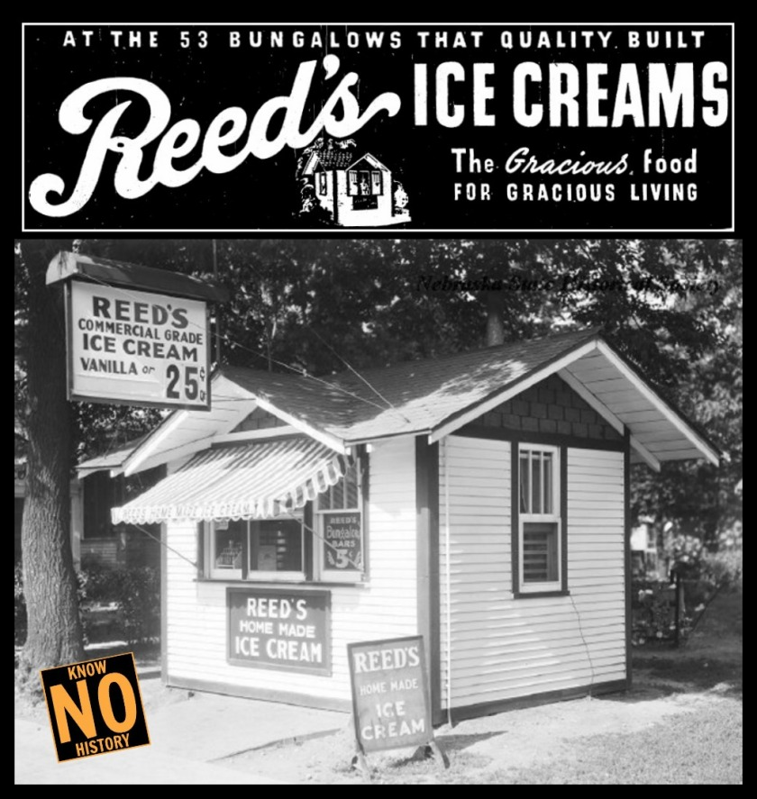 Reed's Ice Cream, North 16th and Wirt Streets, North Omaha, Nebraska