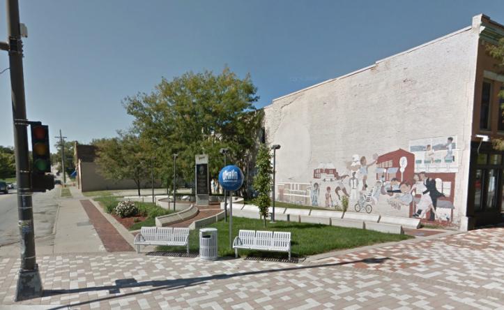 The Rev. Dr. Martin Luther King, Jr. Cornerstone Memorial, N. 24th and Lake Streets, North Omaha, Nebraska