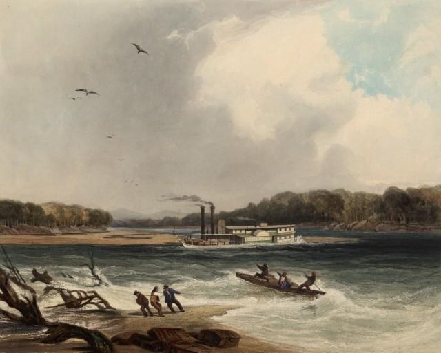 Steamboat Yellowstone Missouri River 1831