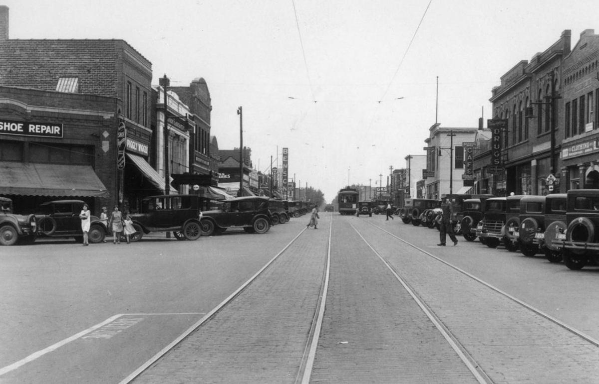 Streetcars In Benson North Omaha History