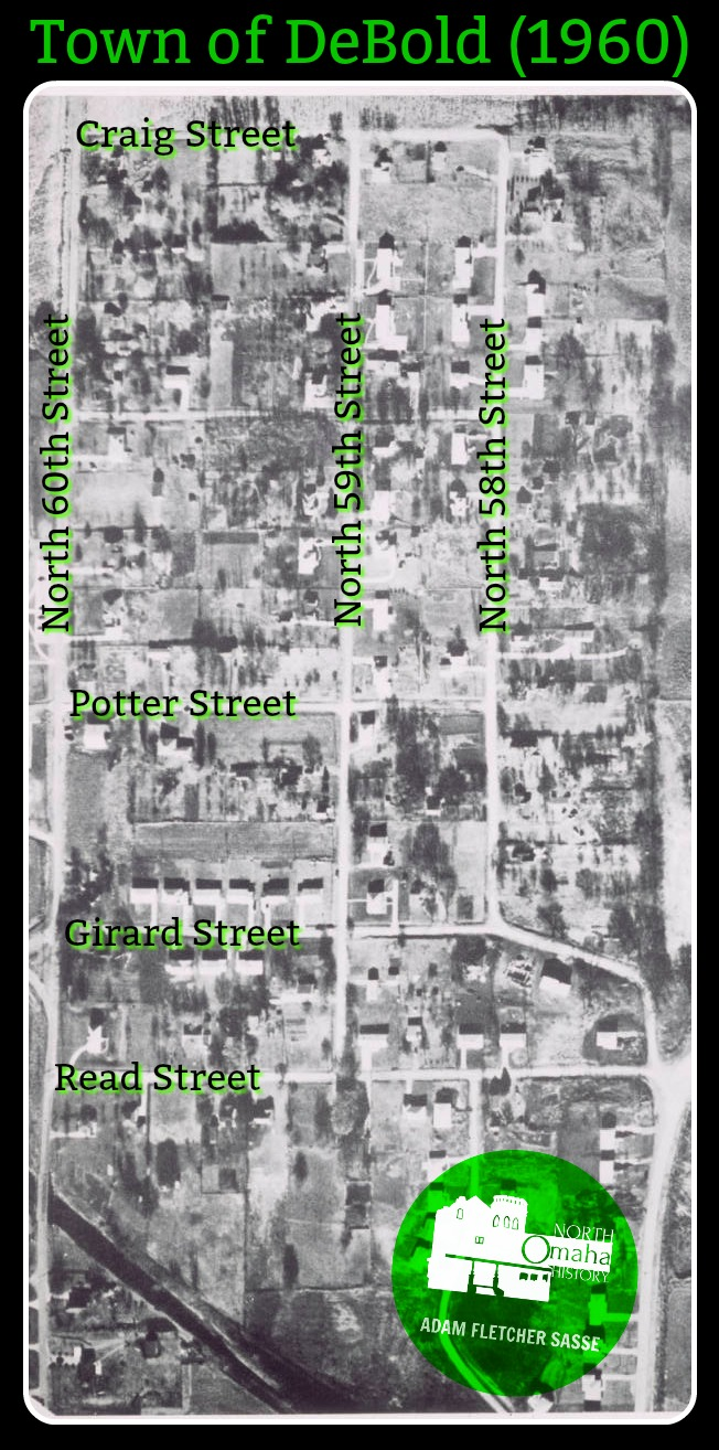 A History Of The Village Of Debolt North Omaha History