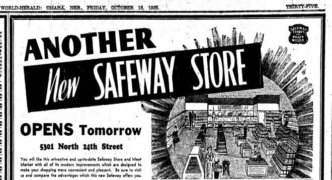 Grocery Store, 5301 N. 24th Street, Miller Park neighborhood, North Omaha, Nebraska