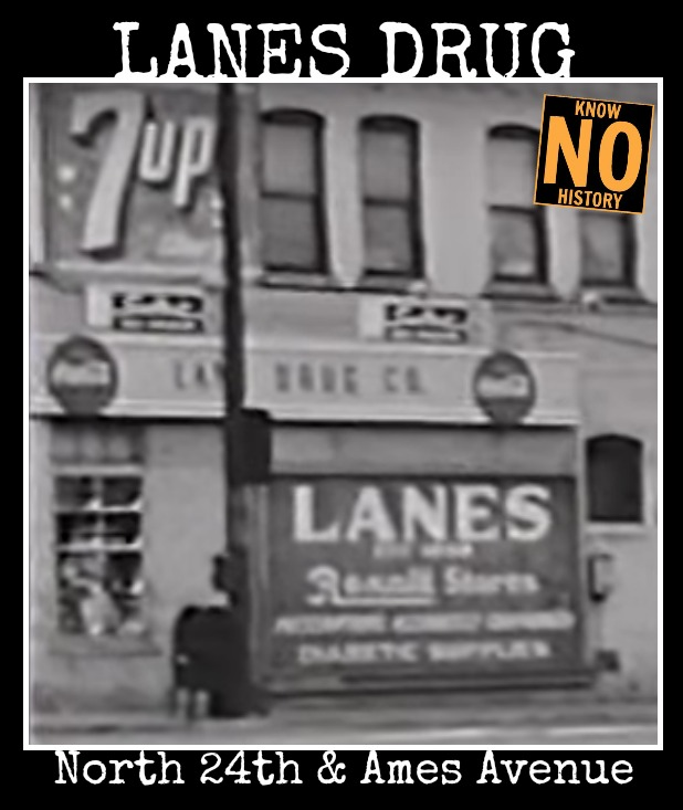 Lanes Drug 24th and Ames