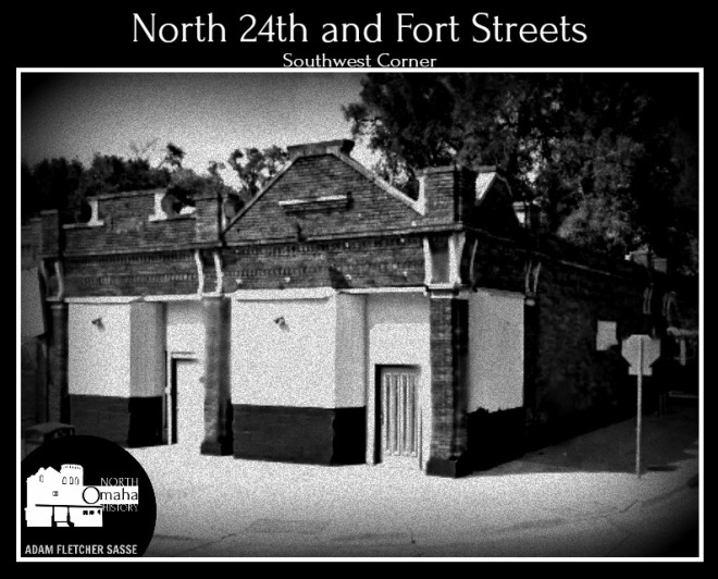 N 24th and Fort SW Miller Park neighborhood North Omaha Nebraska