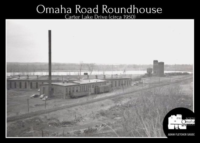 Omaha Road Roundhouse, North Omaha, Nebraska