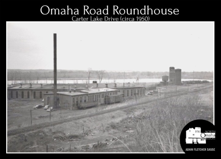 Omaha Road Roundhouse, North Omaha, Nebraska