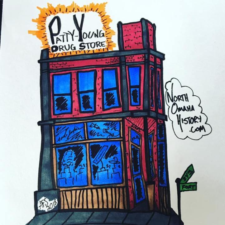 Patty-Young Drug Store, 2402 Fort Street, North Omaha, Nebraska