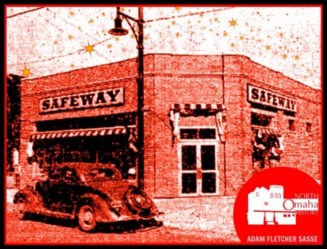 Safeway Store, North Omaha, Nebraska circa 1935