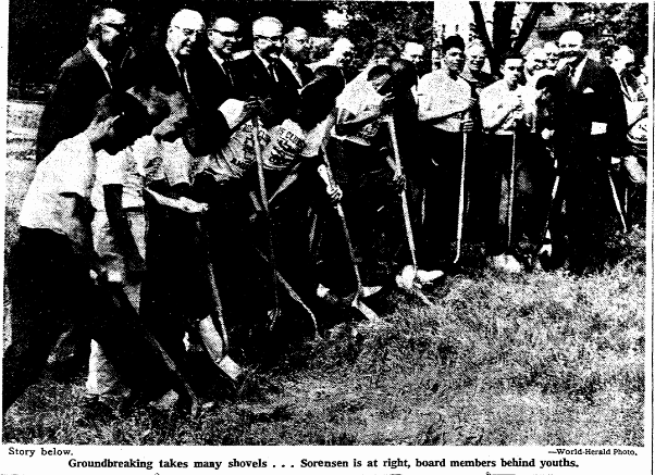 Gene Eppley Boys Club, North Omaha, Nebraska