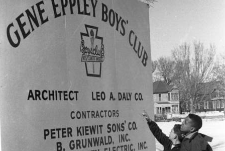 Gene Eppley Boys' Club, North Omaha, Nebraska