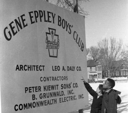 Gene Eppley Boys' Club, North Omaha, Nebraska