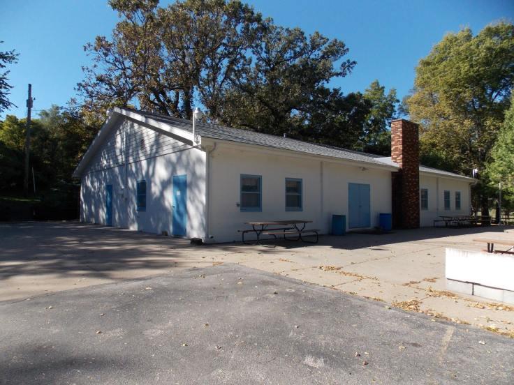 Vennelyst Park pavilion, Florence, North Omaha, Nebraska