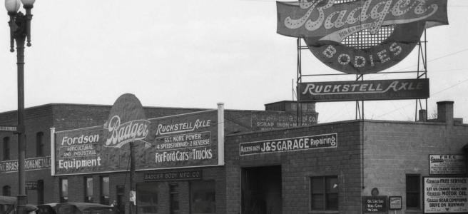 Badger Auto Body Company, North 16th and Cuming Streets, North Omaha, Nebraska