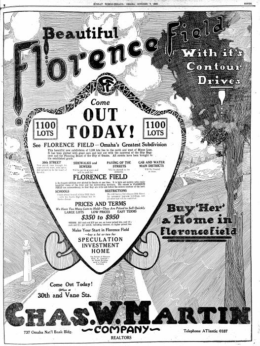 Florence Field, North 30th and Martin Avenue, North Omaha, Nebraska