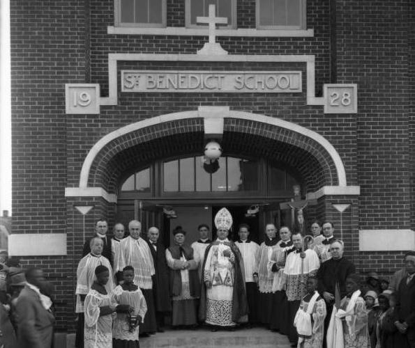 St. Benedict's School, 2423 Grant Street, North Omaha, Nebraska