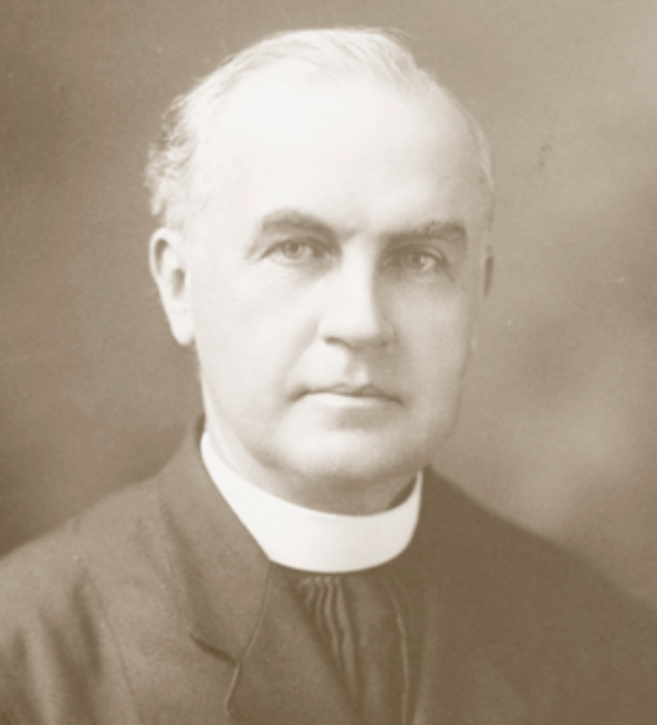Francis Cassilly, S.J. (1860-1938), founder of the St. Benedict Catholic Parish in North Omaha, Nebraska.