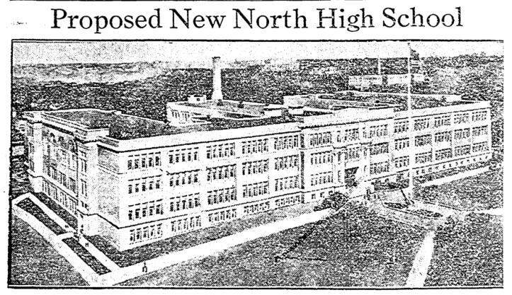 North High School, 4410 N 36th St, North Omaha, Nebraska