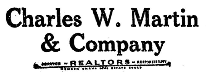 Charles W. Martin and Company in the Florence Field neighborhood, North Omaha, Nebraska