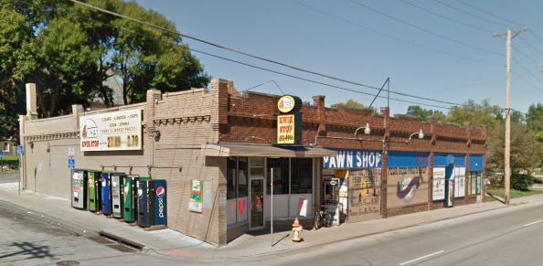 Four Aces Pawn Shop and Quick Stop, 6604 North 30th Street in Florence Field, North Omaha, Nebraska