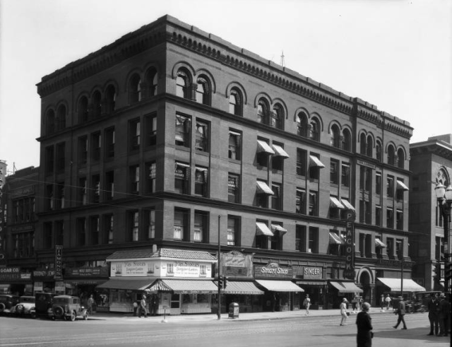 Karbach Building, 15th and Douglas, Omaha, Nebraska