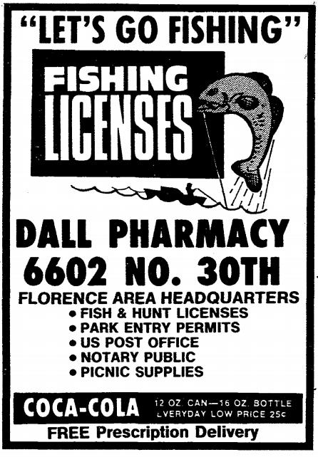 Dall Drugs, 6602 N. 30th, North Omaha, Nebraska