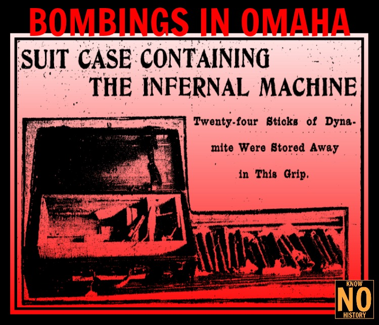 Bombings In Omaha by Adam Fletcher Sasse for North Omaha History.