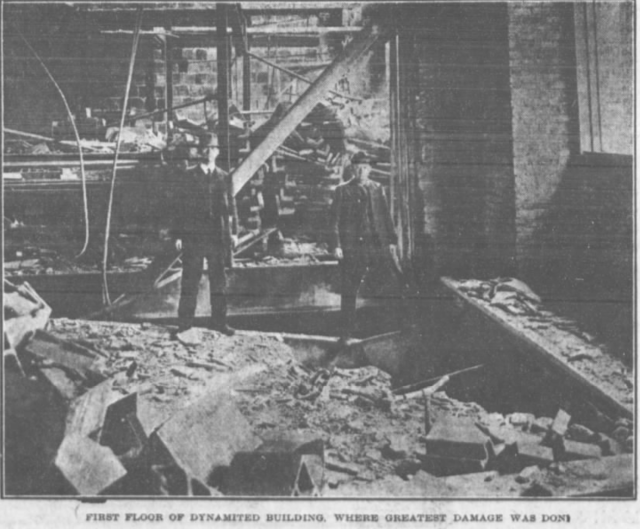 1910 Douglas County Courthouse explosion, Omaha, Nebraska