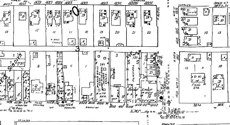 N. 40th and Hamilton Ave, North Omaha, Nebraska