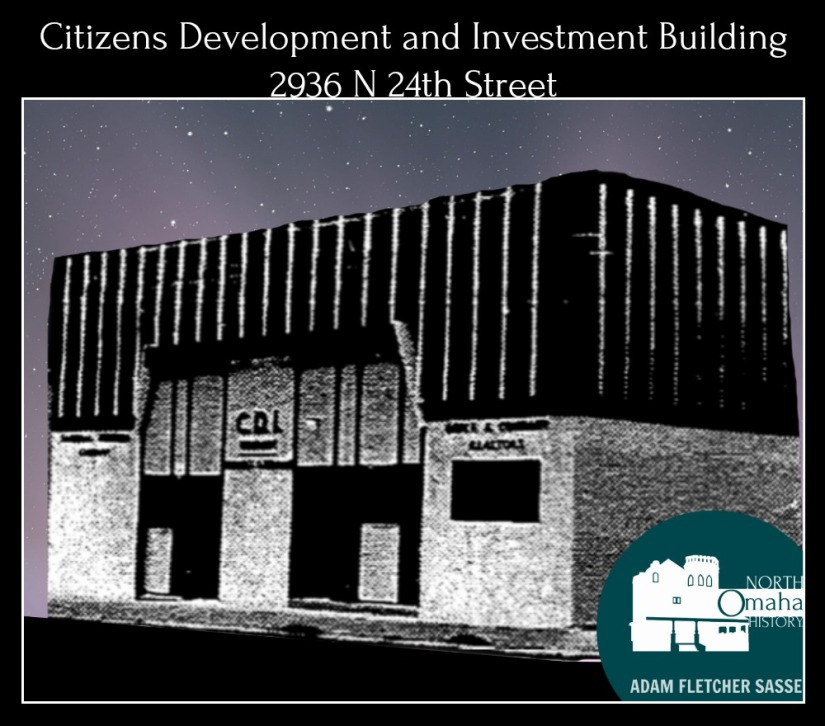 Citizens Development and Investment, 2936 North 24th Street, North Omaha, Nebraska