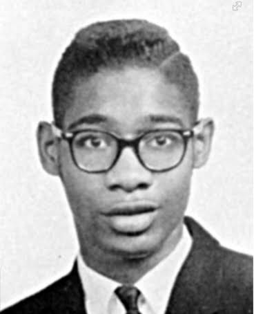 Edward Poindexter, circa 196?, North High School photo, Omaha, Nebraska