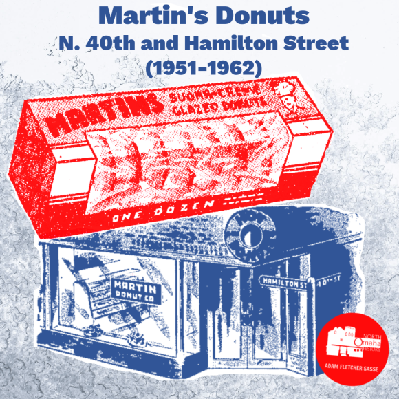 Martin's Pastry, 4004 Hamilton Street, North Omaha, Nebraska