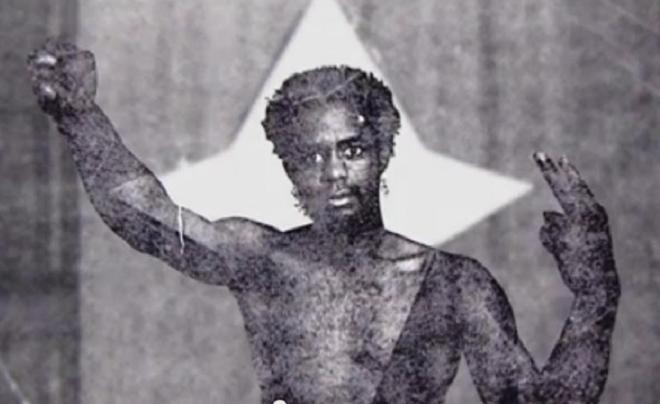 Mondo we Langa in a theatrical performance