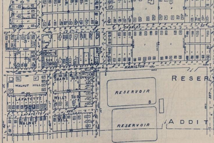 North 40th and Hamilton Streets, North Omaha, Nebraska