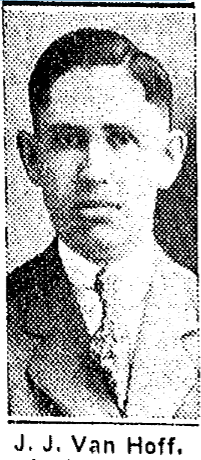 J.J. Van Hoff, pharmacist at Thull Drug Store, 2936 North 24th Street, North Omaha, Nebraska