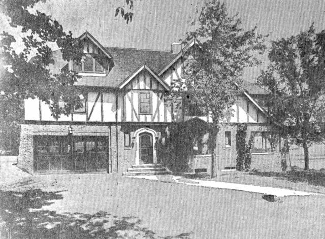 1927 pic Wyman house