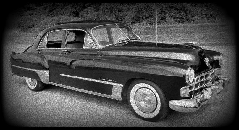 1948 black Cadillac Series 62