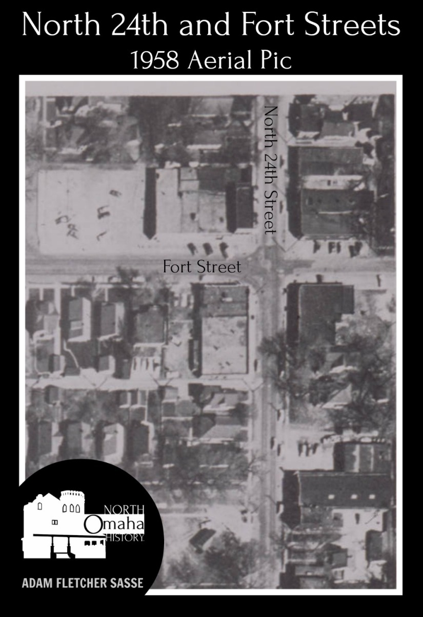 1958 24th and Fort aerial