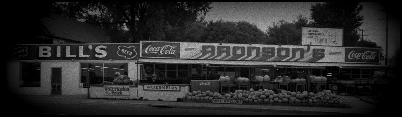 Aronson's Fruit Market 30th and Lake North Omaha Nebraska