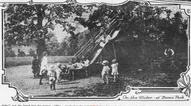 Slide at Bemis Park, North Omaha, Nebraska