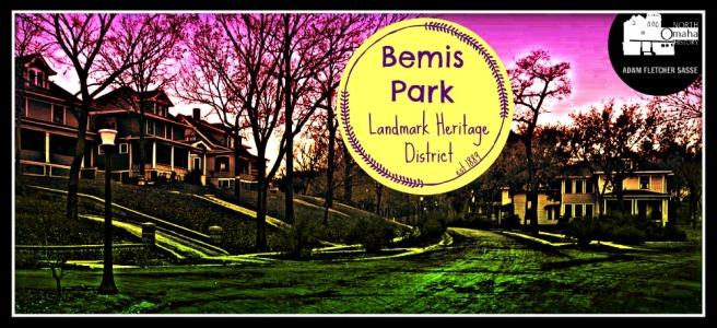 Bemis Park Landmark Heritage District North Omaha Nebraska