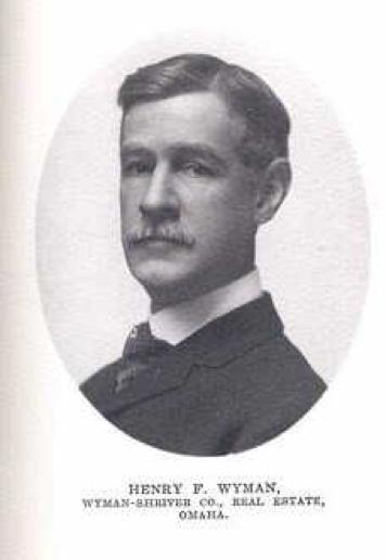 Henry F Wyman of Omaha Nebraska in 1904